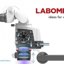 Mikroskop stomatologiczny Labomed PRIMA DNT  ze zmienną ogniskową NuVar